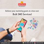 Bulk SMS Service Provider in India - Sathya Technosoft