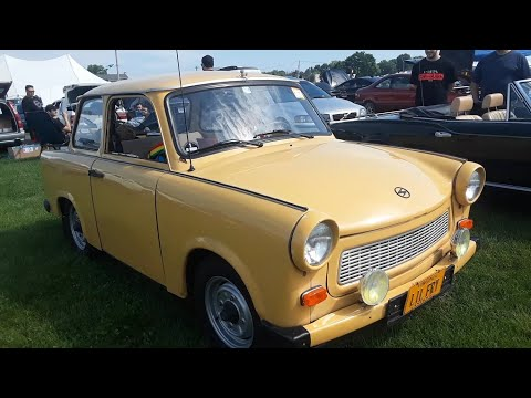 Checking Out Classic ars With Pam Adam's 1984 Trabant At the 2019 Import Carlisle