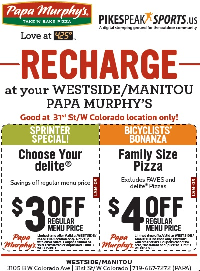 graphic relating to Papa Murphy Coupon Printable identify Papa Murphys Consider N Bake Pizza - $4 off any Family members Dimension