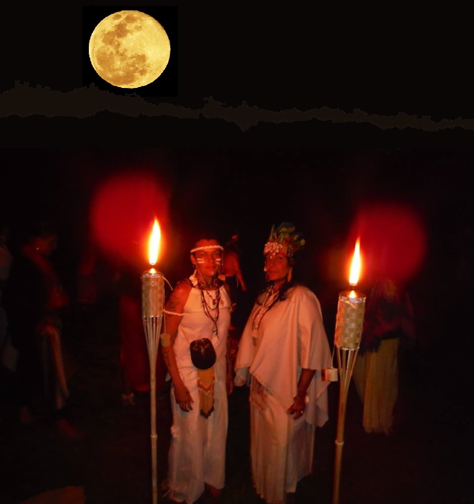 full moon torches