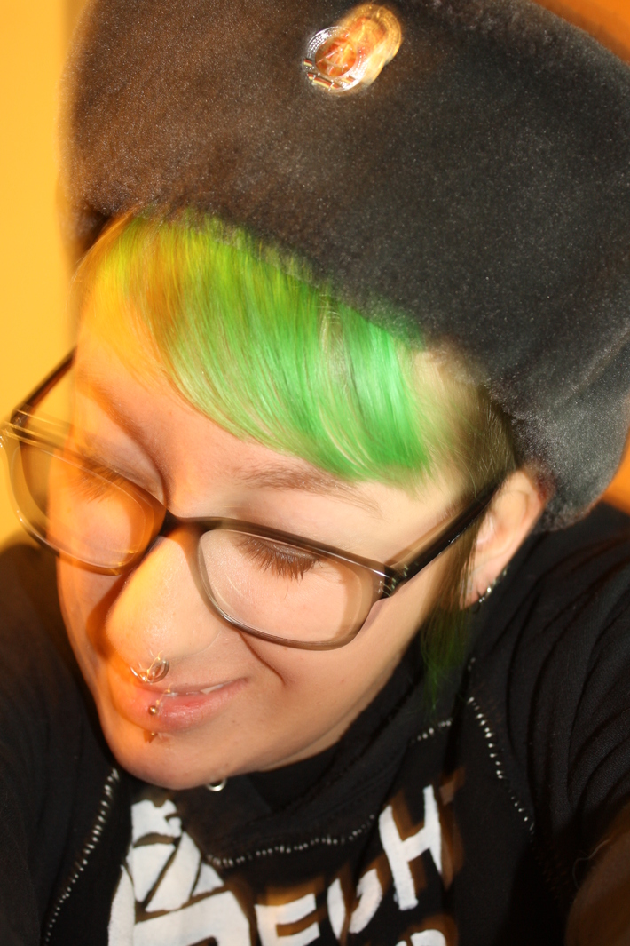 I'm being Tank Girl for Halloween.