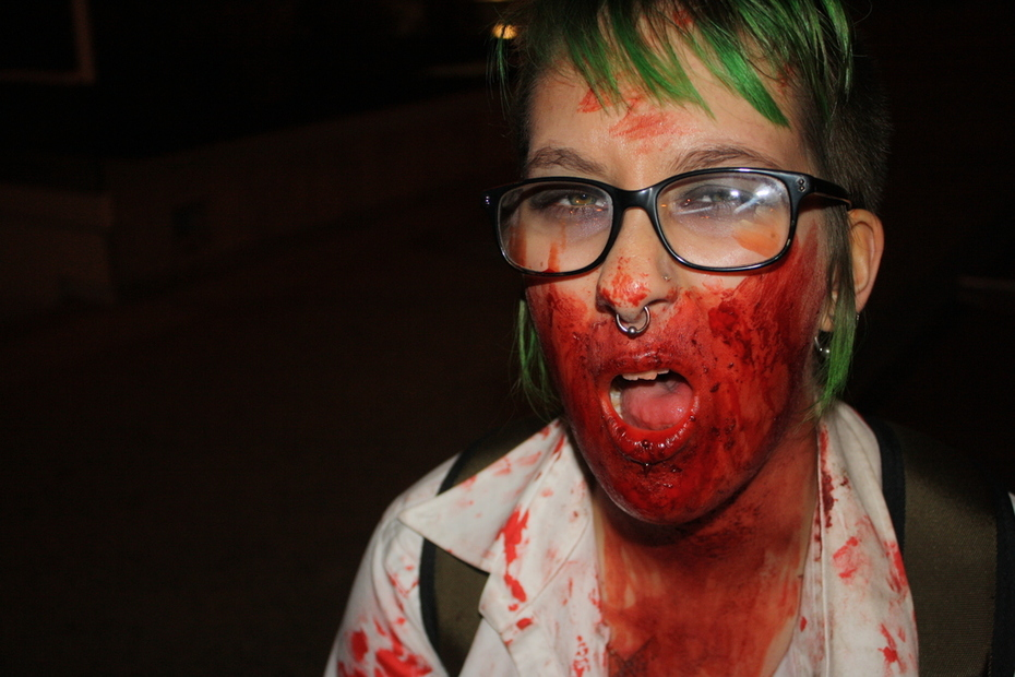 Winnipeg Zombie Walk.