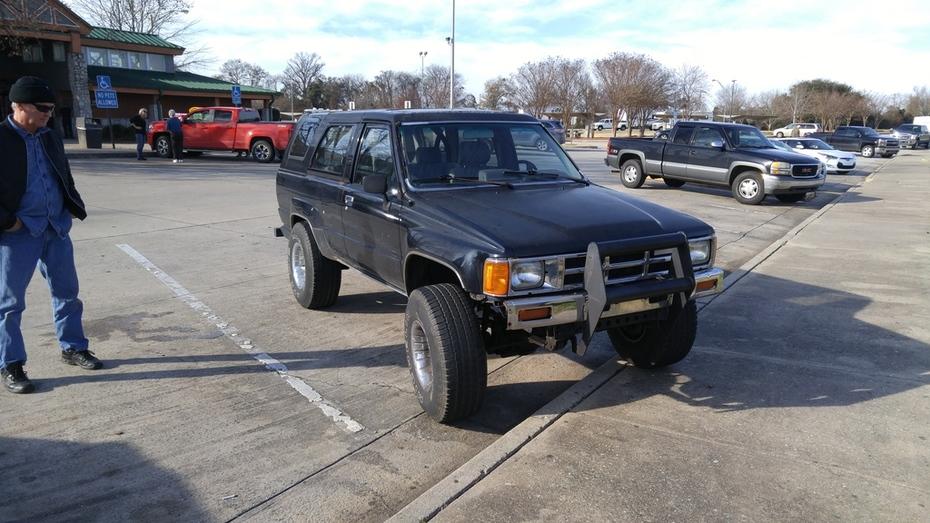 my 1984 Toyota 4Runner SR5 aka, the DeathRunner