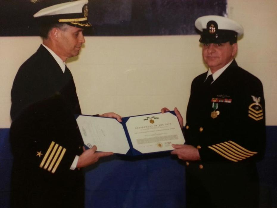 Me - Navy Retirement
