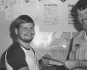 Bob receives letter of commendation from Cdr. Getty for saving man's life on Nimitz ~ Feb. 1980_kindlephoto-16550805