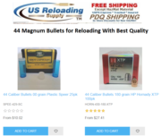 44 Magnum Bullets for Reloading With Best Quality