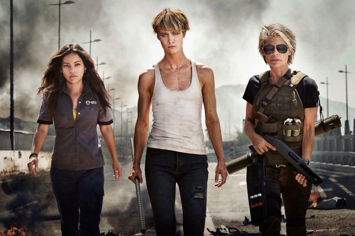 Haters: Terminator Dark Fate First Of Three James Cameron Films!