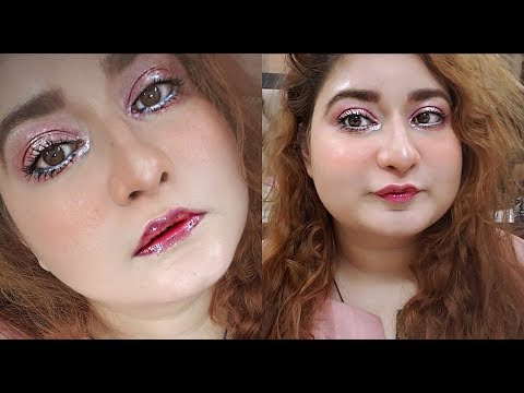 Easy EID GLAM Korean Makeup Tutorial 2019 봄이 핑크 코랄 메이크업