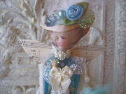 MARIE FLUER FAIRY IN BLUE. SOLD!