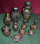 Cloisonne Vase Collection!
