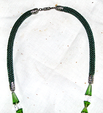 Necklace. Art Nouveau period detail.