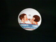 """Hershey's Kisses 1979 Collector Plate 7 1/2"""" Cute Graphic Design"""