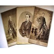 Victorian Carte de Visite (CDV) Photos - Dapper Young Men