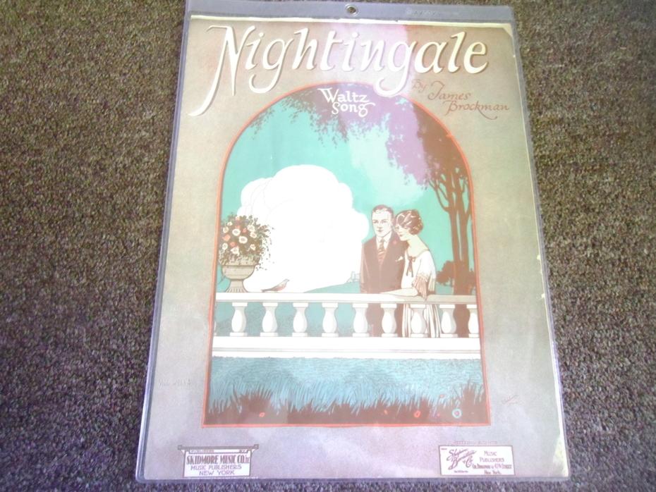 Nightingale (Music Sheet)