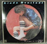 Linda Ronstadt Picture Record - Living in the USA