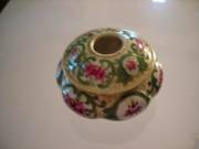 Antique Eggshell Porcelain Hair Receiver