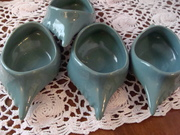 Hall Lobster Claw Butter Pots