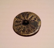 Antique hand crafted button 2