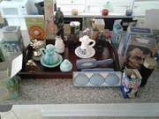 Avon vintage over 200 pieces from toys to gass ware perfumes milk glass
