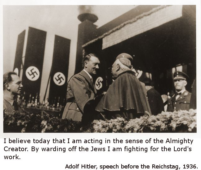 Ultimate Proof That Hitler Was An Atheist