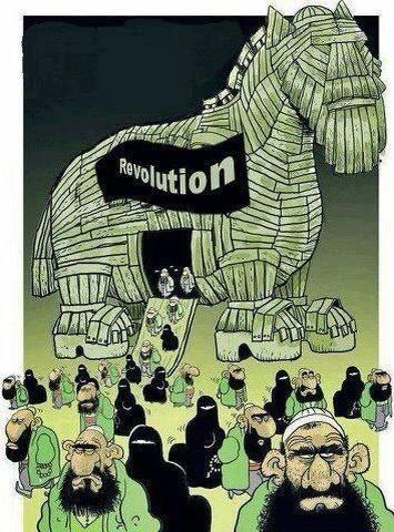 That's the Arab spring