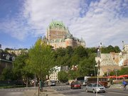 Hotel Chateau Frontenac Seen From Lower Town