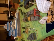 Samurai Castle game at Pacificon '12
