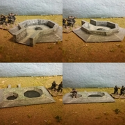 AA and Mortar emplacement