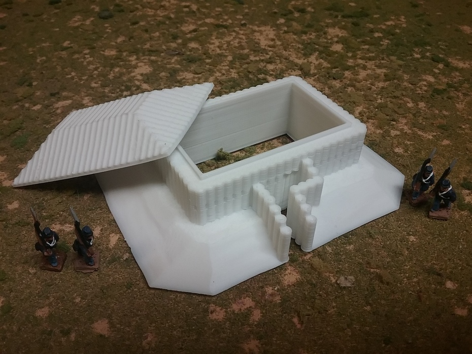 Rectangular Blockhouse
