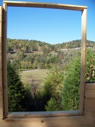 View from our bedroom window