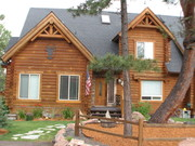Our Log Home in Colorado