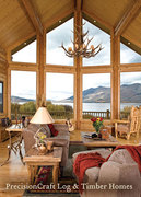Great Rooms | Milled Log Homes