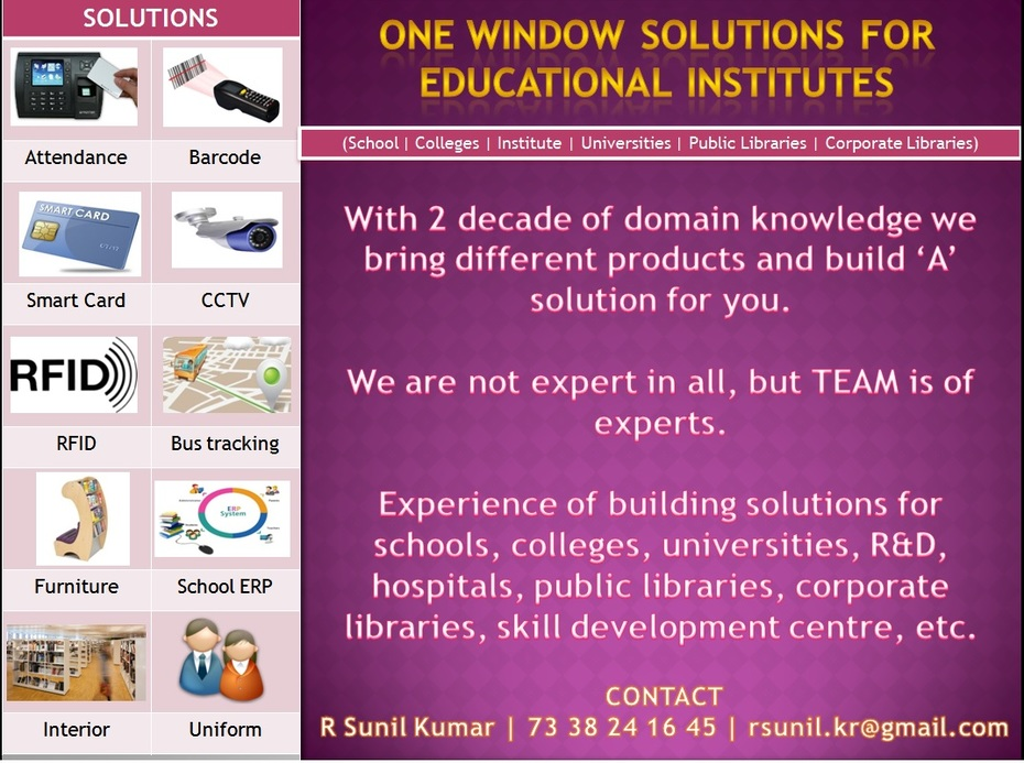 Library Technology Solutions for Education Institutes