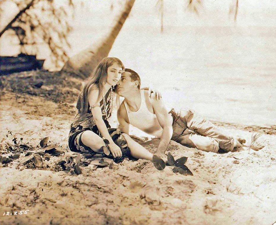 "Bessie Love and Richard Barthelmess - ""Island Paradise"""
