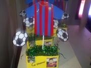 decoracion de futbol del barcelona