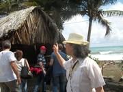 VISITA A LA CASA DE LA CURANDERA Baracoa Cuba....VISIT TO THE HOME OF THE HEALER WOMAN Baracoa Cuba 3/28/2014