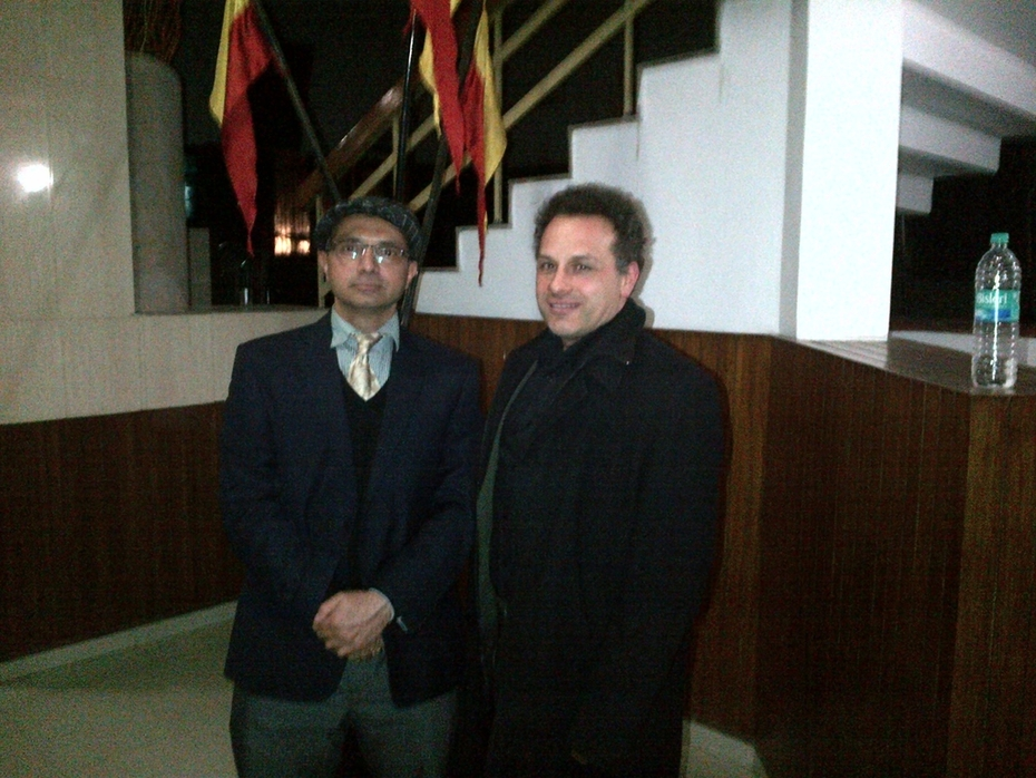 Stephan Chevalier with Vivek Raghuvanshi