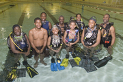 Richmond Redevelopment & Housing Youth Scuba Divers