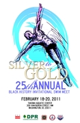 Silver to Gold Black History Invitational Swim Meet Poster