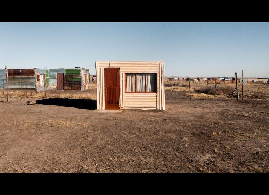 Shacks, built out of necessity