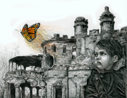 Wanderer Amidst Ruins