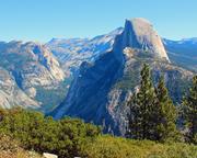 Half Dome from Glacier Point - Yosemite - California