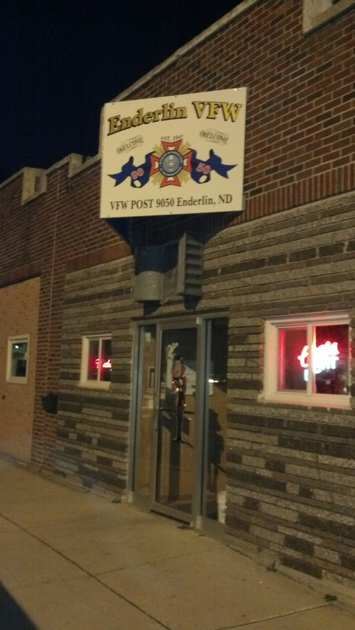 Tuesday Night at the Enderlin VFW... and Global Warming