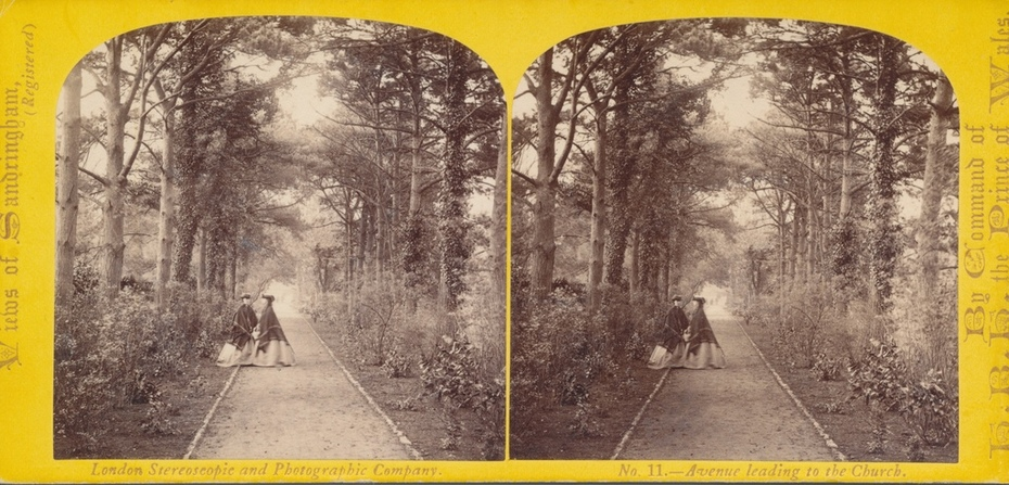 William England #11Views of Sandringham Avenue leading to the Church