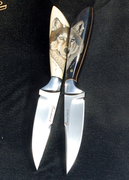 Beautiful Gaetan Beauchamp knives ~ My  Collection~