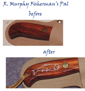 R. Murphy Bait Knife before/after