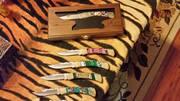 knife display by Dan Fitzgerald