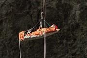 Camilla de rescate espeleo