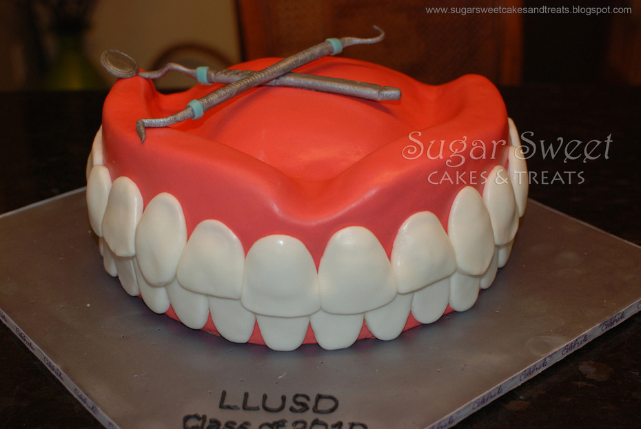 Dental School Grad Cake
