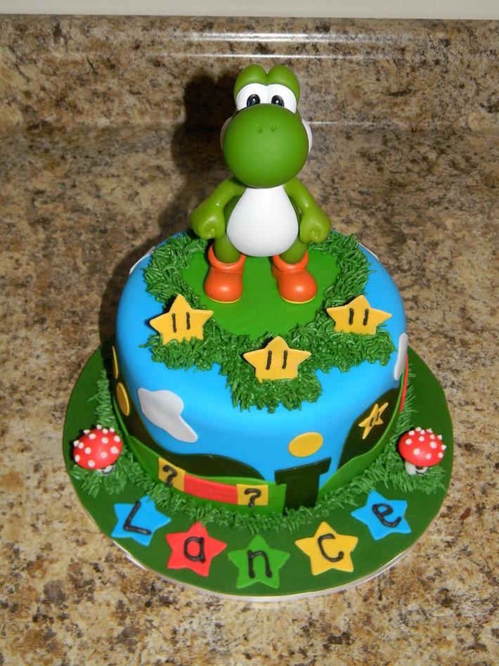Miraculous Yoshi Birthday Cake Cake Decorating Community Cakes We Bake Funny Birthday Cards Online Necthendildamsfinfo